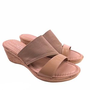 NWOB Tuscany by Easy Streets Wedge Sandals